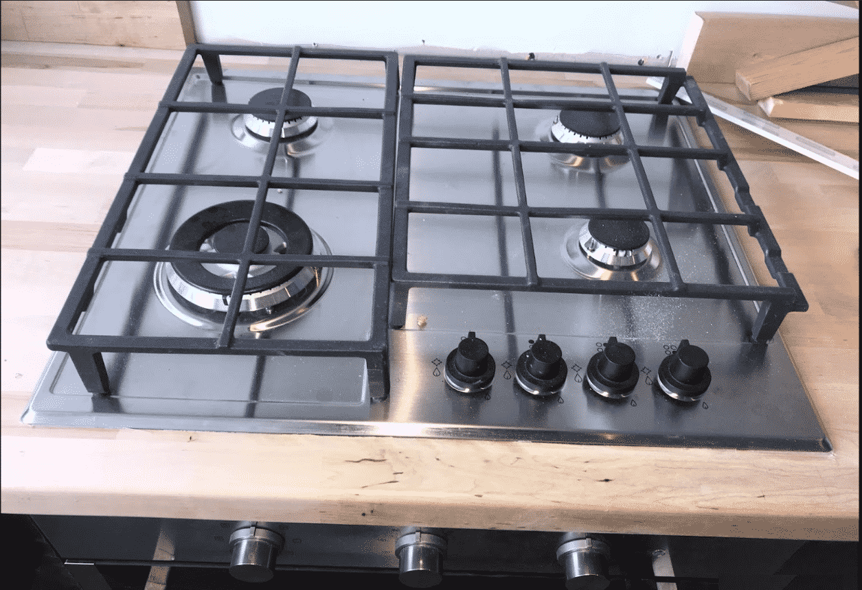 Gas Cooker Installation 2